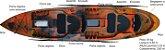 Caiaque Pesca Duplo New Foca Standard Caiaker  - Imagem 1