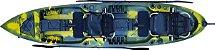Caiaque Pesca Mero Fishing Sistema Pedal Caiaker  - Imagem 5