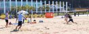 Beach Tennis Kit Quadra Portátil Rede + Postes + Marcação - Imagem 3