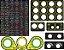 Adesivo Button Box Ou Volante Logitech G923 G29 G920 G27 - Imagem 1