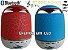 Caixas de som radio bluetooth fm usb micro sd led  - Imagem 5
