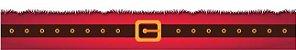 Cinta para Mini Panetone - Modelo Cinto Noel - Imagem 1