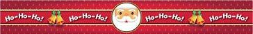 Cinta Grande para Panetone / Modelo Papai Noel - Imagem 1