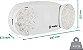 Luminária De Emergência Led, Branca Bivolt Bla 201 – Engesul - Imagem 2