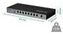 Switch 9 Portas Fast Ethernet Sf 900 Poe Intelbras - Imagem 2