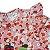 Conjunto Bebê Body Estampado Floral Com Calça Saruel Rosa  - Imagem 3