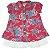 Vestido Bebê Tecido Estampado Duas Peças - Imagem 1