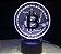 Luminária Bitcoin - 7 Cores (Controle Remoto) - Imagem 4