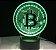 Luminária Bitcoin - 7 Cores (Controle Remoto) - Imagem 6
