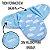 Cueiro Forrado Microfibra Manta Soft Enroladinho Bebê  - Imagem 6