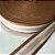 Alça de Poliéster 4cm Caramelo e Rosê - Imagem 1