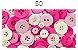Kit Botões divertidos Círculo - Imagem 6