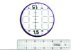 Régua para Patchwork 5cm x 30cm - Imagem 1