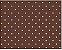 Tecido poá Chocolate - Cor 1603 - Imagem 1