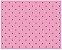Tecido Rosa + Marrom - Cor 1601 - Imagem 1