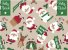 Tecido Papai Noel Bege - Cor 2046 - Imagem 1