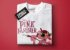 Camiseta branca - Masculina - Pantera cor-de-rosa - Imagem 3