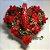 Coração 10 rosas - Imagem 1