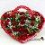Coração com 22 Rosas - Imagem 1