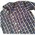 Camisa manga longa xadrez azul tartan - Imagem 2