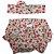 Conjunto calcinha tapa fralda com turbante cerejinhas  - Imagem 1