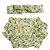 Conjunto calcinha tapa fralda com turbante limão siciliano  - Imagem 1