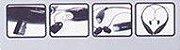 Fone de Ouvido Wireless Neckband Earbud Heaset TF Card  KBP-730T - Imagem 4