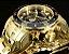 Relógio Invicta Pro Diver 0073 / 21923 Banhado Ouro 18k Cronografo 48mm - Imagem 3