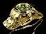 Relógio Invicta Pro Diver 0075 / 21925 Banhado Ouro 18k Cronografo 48mm - Imagem 4