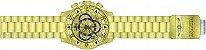 Relógio Invicta Excursion Reserve 24263 Banhado Ouro 18k Cronografo 52mm - Imagem 4