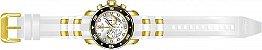 Relógio Invicta Pro Diver 20292 Cronografo 48mm Banhado Ouro 18k - Imagem 4