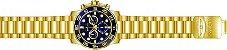 Relógio Invicta Pro Diver 21555 Cronografo 50mm Banhado Ouro 18k Suiço - Imagem 3