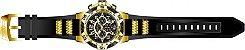 Relógio Invicta Speedway 24233 Cronografo 51mm Banhado Ouro 18k - Imagem 3