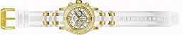 Relógio Invicta Pro Diver 24164 Cronografo 50mm Banhado Ouro 18k - Imagem 4