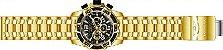 Relógio Invicta Pro Diver 25853 Cronografo 50mm Banhado Ouro 18k - Imagem 4