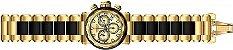 Relógio Invicta Specialty 23978 Cronografo 46mm Banhado Ouro 18k - Imagem 4