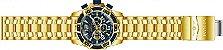 Relógio Invicta Pro Diver 25852 Cronografo 50mm Banhado Ouro 18k - Imagem 4