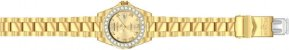 Relógio Invicta Pro Diver Lady 15252 Banhado Ouro 18k 38mm Crystal - Imagem 4