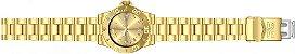 Relógio Invicta Pro Diver 12820 Banhado Ouro 18k 40mm Swiss  - Imagem 4
