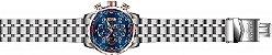 Relógio Invicta Aviator 17203 Cronografo 48mm Aço Inoxidável VD57 - Imagem 4