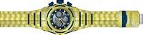 Relógio Invicta Bolt Zeus 12742 Banhado Ouro 18k Cronografo Suiço Z60 53mm - Imagem 4