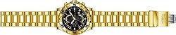 Relógio Invicta S1 Rally 26097 Banhado Ouro 18k Cronografo 48mm - Imagem 4
