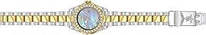Relógio Invicta Sea Base 20393 Feminino 38mm Banhado Ouro 18k - Imagem 4