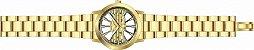 Relógio Invicta Object d' Art 25270 Original Mostrador Transparente Banhado Ouro 18k - Imagem 2