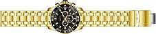 Relógio Invicta Pro Diver 26076 Cronografo 50mm Banhado Ouro 18k - Imagem 4