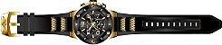 Relógio Invicta Speedway 17200 Cronografo 51mm Banhado Ouro 18k - Imagem 3