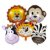 Balões Metalizados de Animais - Imagem 1