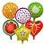 Balões Metalizados de Frutas - Imagem 1