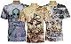Kit 3 Camisetas Indianas Unissex Místicas Sortidas - Imagem 1