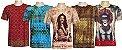 Kit 5 Camisetas Indianas Unissex Extra Grandes Sortidas - Imagem 1